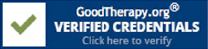 Good Therapy Verified Creditials
